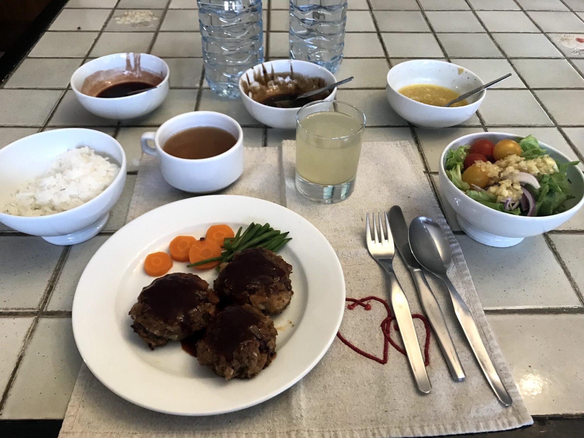 TDS シャレー 夕食