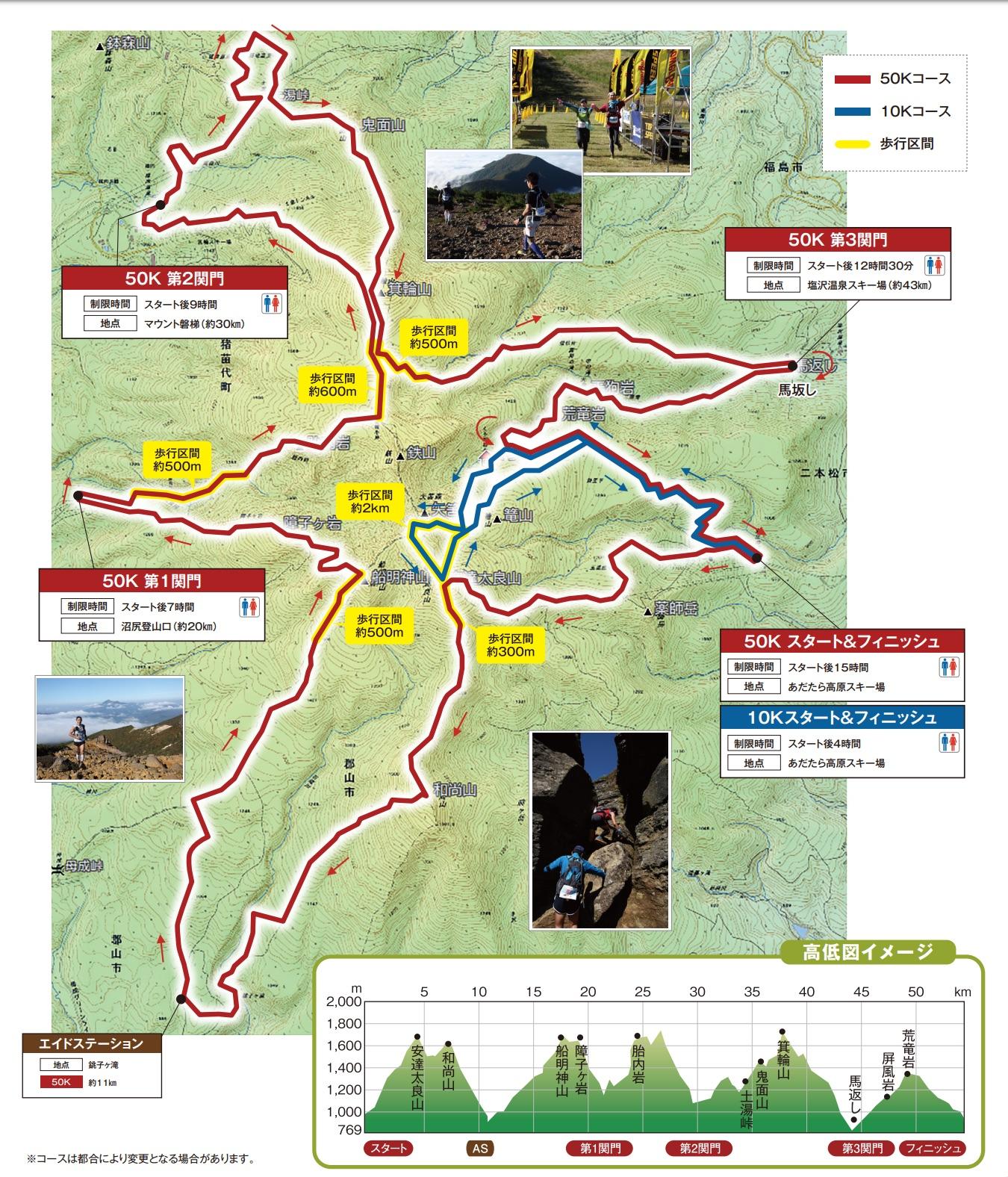 安達太良山2019_コース